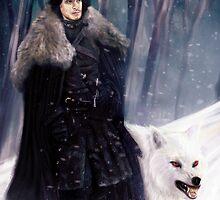 Jon Snow by miriamuk