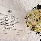 Marriage Certificate by Kathleen Hill
