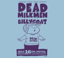 Dead Milkmen Gig Flyer Tee by Jarrod Knight