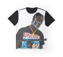 Travis Scott Mask Graphic T-Shirt