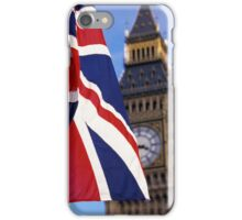 Union Flag And Big Ben iPhone Case/Skin