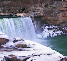 Ice Falls by Nicole  McKinney