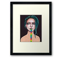 Untitled Rainbow Framed Print
