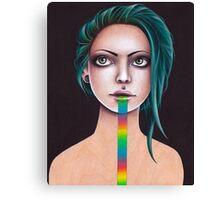 Untitled Rainbow Canvas Print