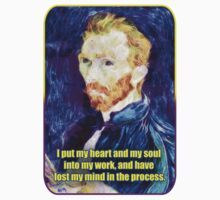 Vincent van Gogh Quote Kids Tee
