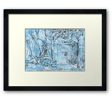 Elizabeth Bay Grotto Framed Print