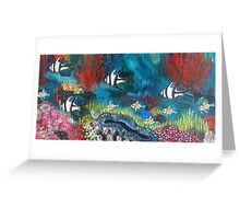 Abbey's Reef I Greeting Card