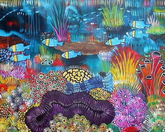 Abbey's Reef II by Rachel Ireland-Meyers