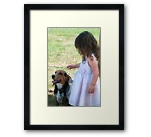 And They Call It Puppy Love Framed Print