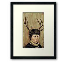 A Boy Framed Print