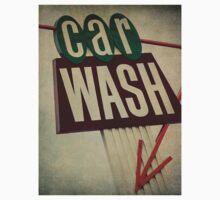 Vintage Car Wash Sign  Kids Clothes
