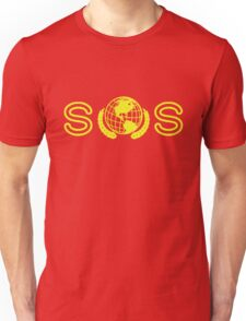 The Banner. (Yellow) Unisex T-Shirt