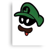 Mr. L  (Evil Luigi) Canvas Print