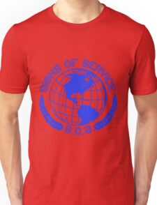 The Globe. (Blue) Unisex T-Shirt