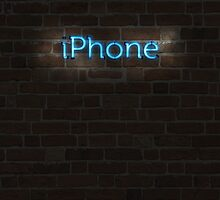 Neon iPhone by Qwnbee