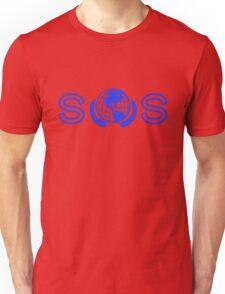 The Banner. (Blue) Unisex T-Shirt