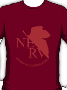 NERV Red Logo T-Shirt