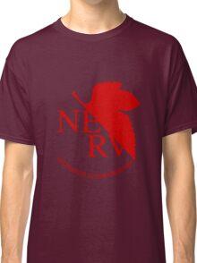 NERV Red Logo Classic T-Shirt