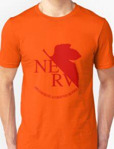 NERV Red Logo T-Shirt