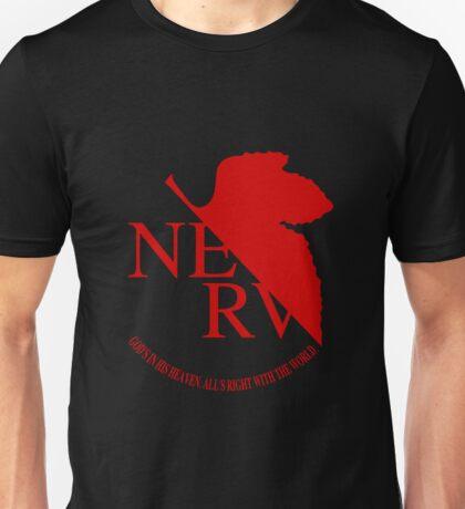 NERV Red Logo Unisex T-Shirt