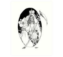 Bella Muerte Art Print