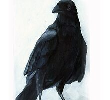 The Raven by LindaAppleArt