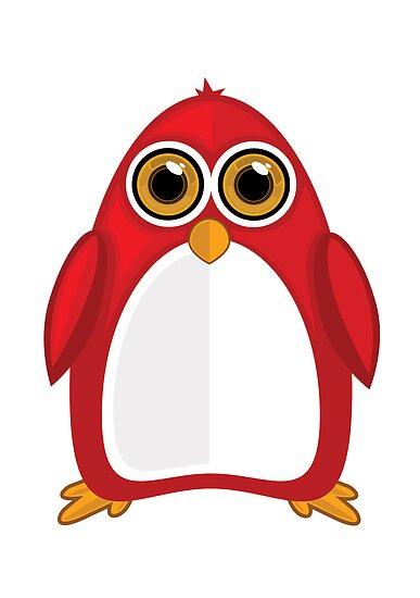 Red Penguin by Adamzworld