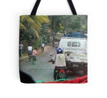 Diverse Transportation Tote Bag