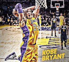 Kobe Bryant Dunk by jsipek