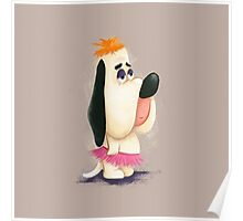 Droopy in a Tutu Poster