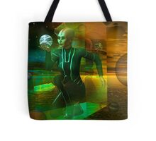 holographic universe Tote Bag