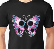 Sugar Skull Butterfly Tattoo Flash Unisex T-Shirt