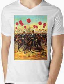 99 red ballons Mens V-Neck T-Shirt