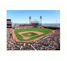 AT&T Park - San Francisco Art Print