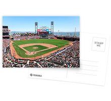 AT&T Park - San Francisco Postcards