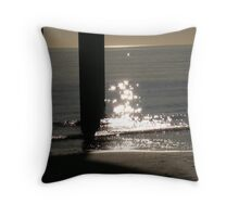 Sparkly Days Throw Pillow