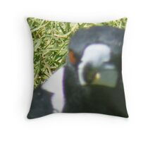 Magpie Musings Throw Pillow