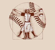 Vitruvian Baseball Player (Natural Tones) Unisex T-Shirt