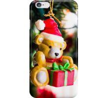 Christmas Teddy iPhone Case/Skin