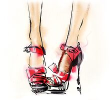 Fashion shoes . Summer style.  by Teni