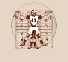 Vitruvian Football Player (Natural Tones) Unisex T-Shirt
