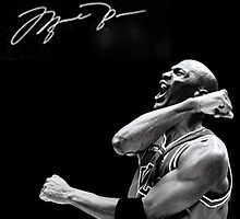 Michael Jordan Signature by jsipek