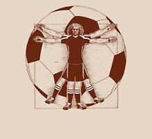 Vitruvian Soccer Player (Natural Tones) Unisex T-Shirt