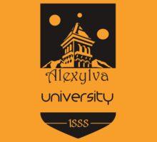 Alexylva University 1888 Black by Kirdinn