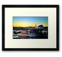 Cape Town Interantional Framed Print