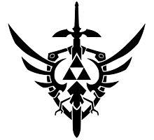 Zelda Symbol Photographic Print