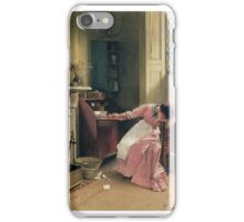 Carlton Alfred Smith - Recalling the Past 1888 iPhone Case/Skin