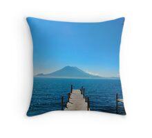 Lake Atitlan Throw Pillow