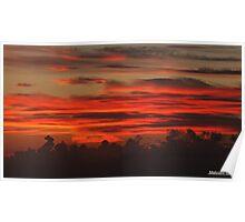 """ A Cornish Sunset"" Poster"