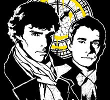 John and Sherlock by zerobriant